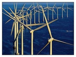 Китай построил первую морскую ветроэлектростанцию