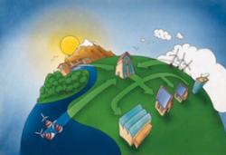 Япония испробовала снабжение электронергией из природных источников