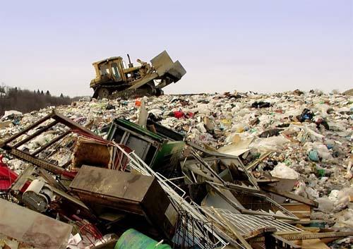 Бытовые отходы в качестве материалов для возведения фундамента