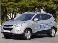 Hyundai провела тест-драйв автомобилей на топливных элементах