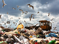 Свалки вытесняют заводы попереработке мусора