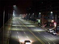 В Барнауле продолжается замена существующих светильников на светодиодные