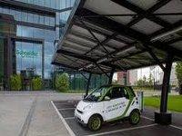 Началось внедрение стандарта для зарядных станций электромобилей