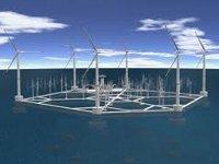 Возле Мальты построят крупнейший плавающий ветропарк