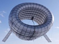 В США прошли испытания ветряка, размещенного на аэростате