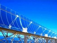 Установлен крупнейший в мире параболический солнечный концентратор