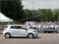 Renault ZOE установил рекорд для электромобиля по длине пробега