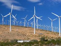 Ветростанция в Румынии