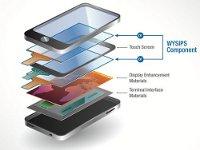 Структура телефона с солнечной батареей