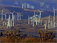 Промышленная ветростанция