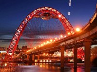 Мосты через Москву-реку получат новую подсветку