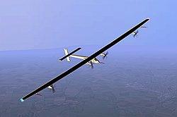 Первый в мире солнечный самолет