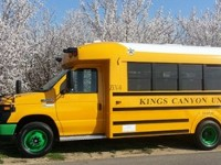 Школьный электробус в США