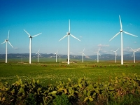 Ветроэлектростанция на Украине