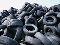 Старые шины будут использовать в производстве аккумуляторов