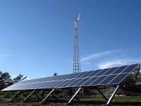 Ветро-солнечная электростанция