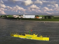 В Нидерландах готовят к пуску первую в мире плавучую приливную электростанцию