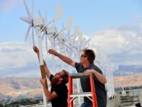 Intel устанавливает комплекс ветряных микротурбин