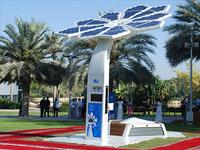 ВДубае установили раздающие Wi-Fi «деревья»
