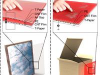 Учёные сделали гибкую электронную бумагу, получающую питание отнажатий