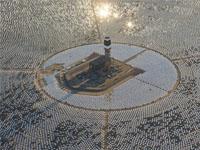 Началось строительство крупнейшей вКитае солнечной электростанции башенного типа