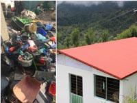 Пластиковые отходы вдоступное жилье