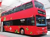 Надороги Лондона вышли первые электрические двухэтажные автобусы