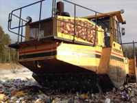 Как развивается сбор ипереработка мусора вЮгре