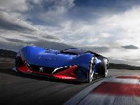 Peugeot представил гибридный суперкар, посвященный 100-летней спортивной победе