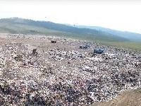 Рядом сУлан-Удэ растет большая мусорная пирамида