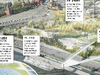 Вцентре Москвы реализуется уникальный проект парка «Зарядье»