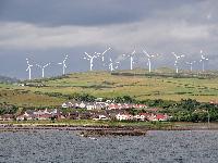 Шотландия поставила рекорд попроизводству ветроэнергии