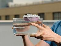 Инженеры вскипятили воду спомощью губки