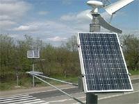 ВХакасии появился первый светофор, работающий отэнергии солнца иветра
