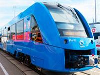 Создан первый вмире пассажирский водородный поезд