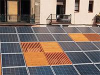 Барселона внедряет солнечные батареи дляуличных фонарей