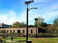 Уличные фонари, заряжающиеся отшагов прохожих, установлены вЛас-Вегасе