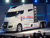 Состоялась презентация революционного грузовика Nikola One