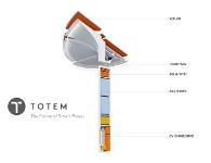 Создан «умный» фонарь Totem, который облегчит жизнь жителям мегаполисов