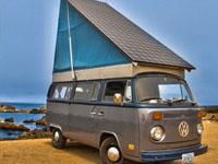 Туристический фургон ссолнечной батареей