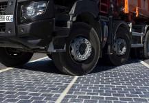 Во Франции открыли дорогу спокрытием изсолнечных батарей