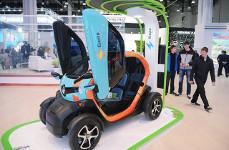 ВСочи появятся «зеленые зоны» дляэлектромобилей
