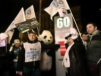 Вчесть «Часа Земли» иГода экологии повсей России выключили свет ипризвали спасать природу, меняя свои привычки