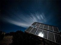 Китайские солнечные батареи генерируют электричество даже ночью