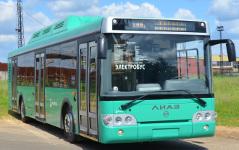 Тюменский электробус будет ездить погостевому маршруту