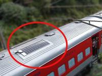 ВИндии начал свою работу поезд насолнечной батарее