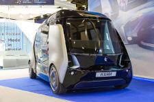 «КАМАЗ» создал прототип беспилотного автобуса «ШАТЛ»