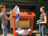 ВТаганском районе г. Москвы стартовал эксперимент пораздельному сбору отходов