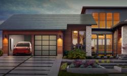 Tesla начала массовое производство солнечных панелей длякрыш