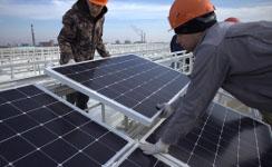 ВЧелябинской области начался монтаж первой промышленной солнечной электростанции